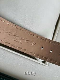 Frederique constant mens watch slimline quartz leather brand new in box