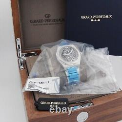 Girard Perregaux Laureato Skeleton Automatic 42mm BRAND NEW 81015 Complete