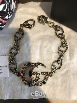 Gucci Crystal Double G Bracelet Brand New
