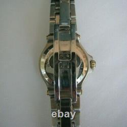 Gucci His & Hers Dual Tone Round Silver & Gold Watches Vintage Classic BRAND NEW