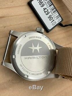 Hamilton Khaki Field Stainless Steel Mechanical Heritage H69429901 Brand New B&P