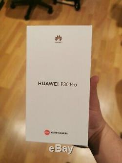Huawei P30 Pro 128GB Breathing Crystal brand new in box, plus GT watch