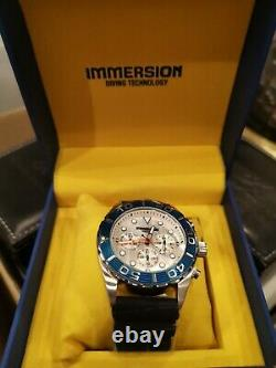 Immersion Mens Diving Watch 200m Brand New