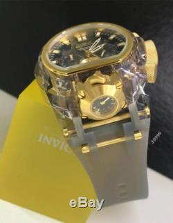 Invicta Bolt Zeus Magnum Anatomic Quartz Chronograph Dual Time Brand New