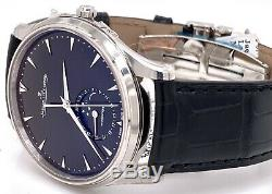 JAEGER LECOULTRE JLC Master Ultra Thin Moon 39 mm Watch Q1368470 BRAND NEW