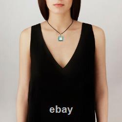 Lalique Crystal Arethuse Clear & Vermeil Pendant #10389600 Brand Nib Save$$ F/sh