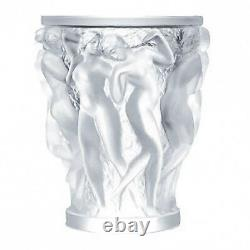 Lalique Crystal (Brand New) Bacchantes XXL Vase Clear Ref10119500 Height 34cm