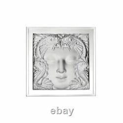 Lalique Crystal Revelation Masque De Femme Panel #10089000 Brand Nib Save$$ F/sh