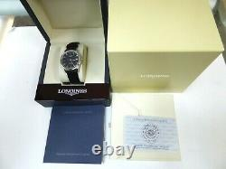 Longines Mens Watch Flagship V. H. P. Perpetual Calendar L4 722.4 Brand New In Box