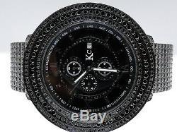 Mens Brand New 57 Mm Kc/Joe Rodeo Techno Com All Black Simulated Diamond Watch