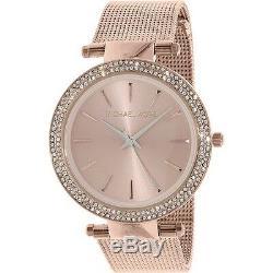 Michael Kors Brand New MK3369 Genuine Rose Gold-Tone Darci Ladies bracelet Watch
