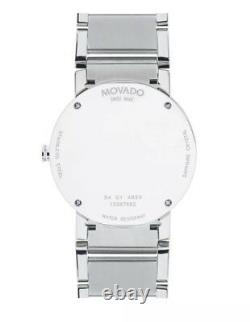 Movado Men's Sapphire Museum 0606093 Brand New Free Shipping! Box & Papers