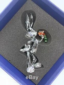 NEW Swarovski Brand Crystal Looney Tunes Figurine Bugs Bunny Display 5470344