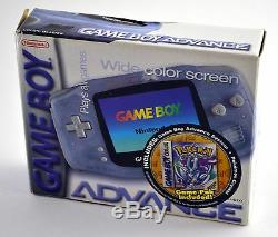Nintendo Game Boy Advance Glacier System Brand New in Box, No Crystal Version