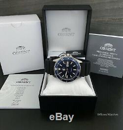 Orient Kamasu Automatic 200M Sapphire Crystal Watch RA-AA0006L19B Brand New
