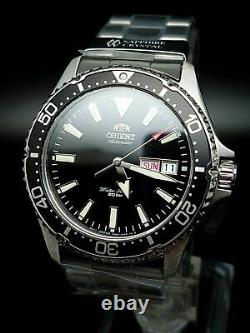 Orient Kamasu Mens Automatic 200M Sapphire Crystal Watch RA-AA0001B19B Brand New