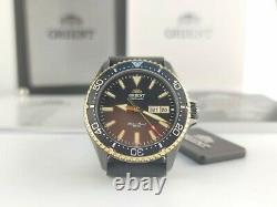 Orient kamasu Men Automatic 200 M Sapphire Crystal Watch RA-AA0005B19B Brand New