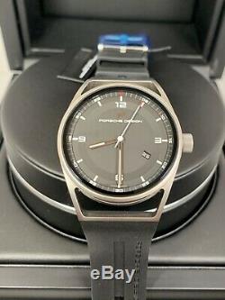Porsche Design 1919 Datetimer Titanium, Brand New, Complete set