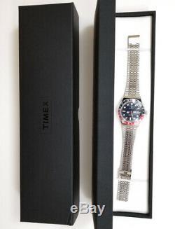 Q Timex Reissue 38mm Stainless Steel Bracelet Watch TW2T80700ZV BRAND NEW