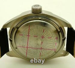 Russian Vostok Komandirskie 030789 Military Auto Wrist Watch Brand New