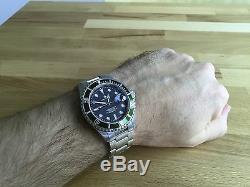STEINHART OCEAN 1 GREEN Diver Watch (BRAND NEW) T0205 Men Swiss ETA 2824-2