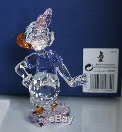 SWAROVSKI Crystal Figurine Disney Daisy Duck Colored 5115334 BRAND NEW MIB COA