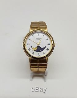 Seiko 6080R Quartz Moon Phase Watch (BRAND NEW!)