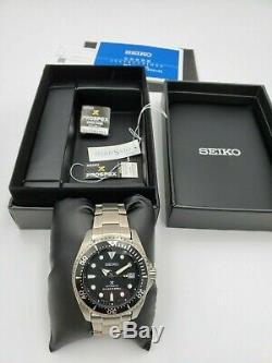 Seiko Shogun Titanium Prospex Diver SBDC029 Brand New Open Box JDM