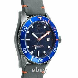 Spinnaker Wreck Automatic Watch Blue Grey Band SP-5051-01 Brand New In Box