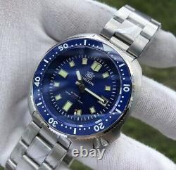 Steel Dive Captain Willard Watch Blue Brand New Ceramic Bezel Saphire Crystal