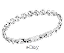Swarovski #5071173 Angelic Bracelet Brand Nib Crystal Rhodium Love 100% Auth