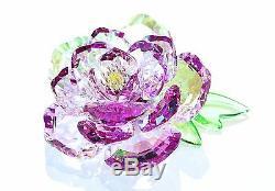Swarovski Crystal Stunning Peony Beautiful Flower Rose 5136721 Brand New In Box