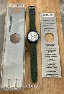 Swatch Originals Automatic SAN102 Baru Brand New! 1993 NOS! B&P&Tag RARE