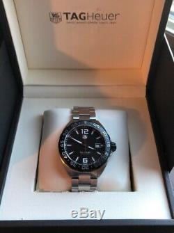 TAG HEUER BLACK DIAL FORMULA 1, 43mm Men's Watch. BRAND NEW With BOX