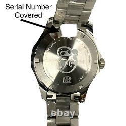Tag Heuer Aquaracer 41mm Blue Dial Men's Watch WAY111C. BA0928 Brand New