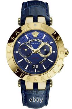 Versace Men's Watch VEBV00219 V-Race Swiss Made Brand Watch New