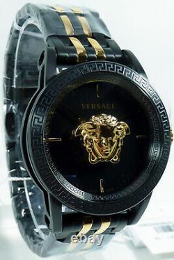 Versace Men's Watch VERD01119 PALAZZO Black Swiss Made Brand Watch New