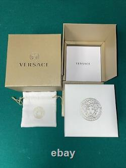 Versace Watch Mens Chronograph VE1A00218 Brand New Chronograph Rose Gold Watch
