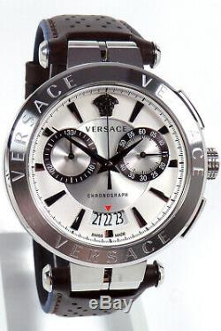 Versace Watch Mens Chronograph VE1D00119 Aion Swiss Made Brand New