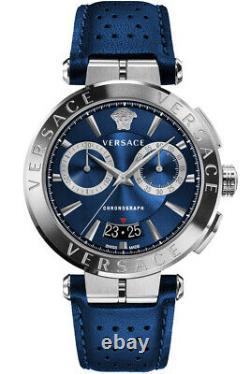 Versace Watch Mens Chronograph VE1D01220 AION Swiss Made Brand New