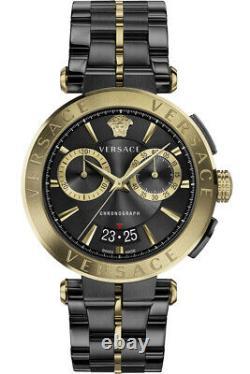 Versace Watch Mens Chronograph VE1D01620 AION Swiss Made Brand New