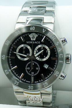 Versace Watch Mens Chronograph VEPY00520 Swiss Made Brand New