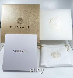 Versace Women's Watch VE8101019 V Circle Logomania Swiss Made Brand Watch New