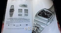 Vintage Omega Megaquartz 32 KHz Prototype Watch ONLY 3 IN WORLD 1970s Brand New