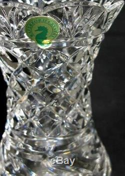 Waterford Crystal Clara Large Centerpiece Collectors Crystal Vase (BRAND NEW)