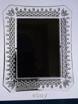 Waterford Crystal Lismore Collection Photo Frames 5 X 7 Brand New Gift Boxed