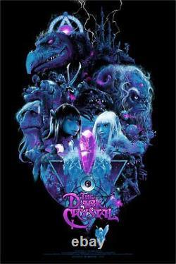 Wondercon 2019 The Dark Crystal Vance Kelly Poster Screen Print 24x36 155/350