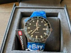 Zodiac Aerospace GMT ZO9400 LIMITED EDITION Watch Brand New With Tags